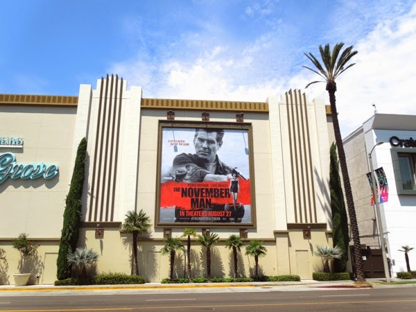 The November Man movie billboard