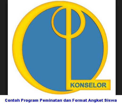 Download Contoh Program Peminatan dan Format Angket Siswa
