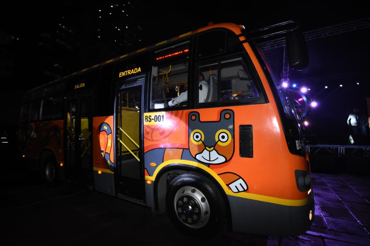 Los buses cambiarán la forma de transporte en la ciudad frente al transporte sindicalizado / AMN