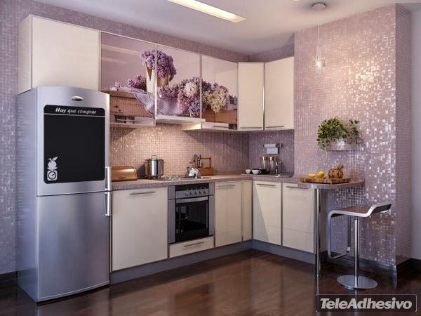 Bloc de recetas como renovar tu cocina sin hacer obras - Vinilo muebles cocina ...