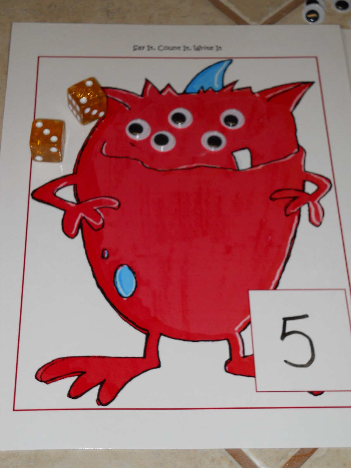 Learning And Teaching With Preschoolers Monster Of A Time