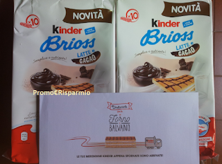 Logo In consegna confezioni ''A colazione con Kinder ''