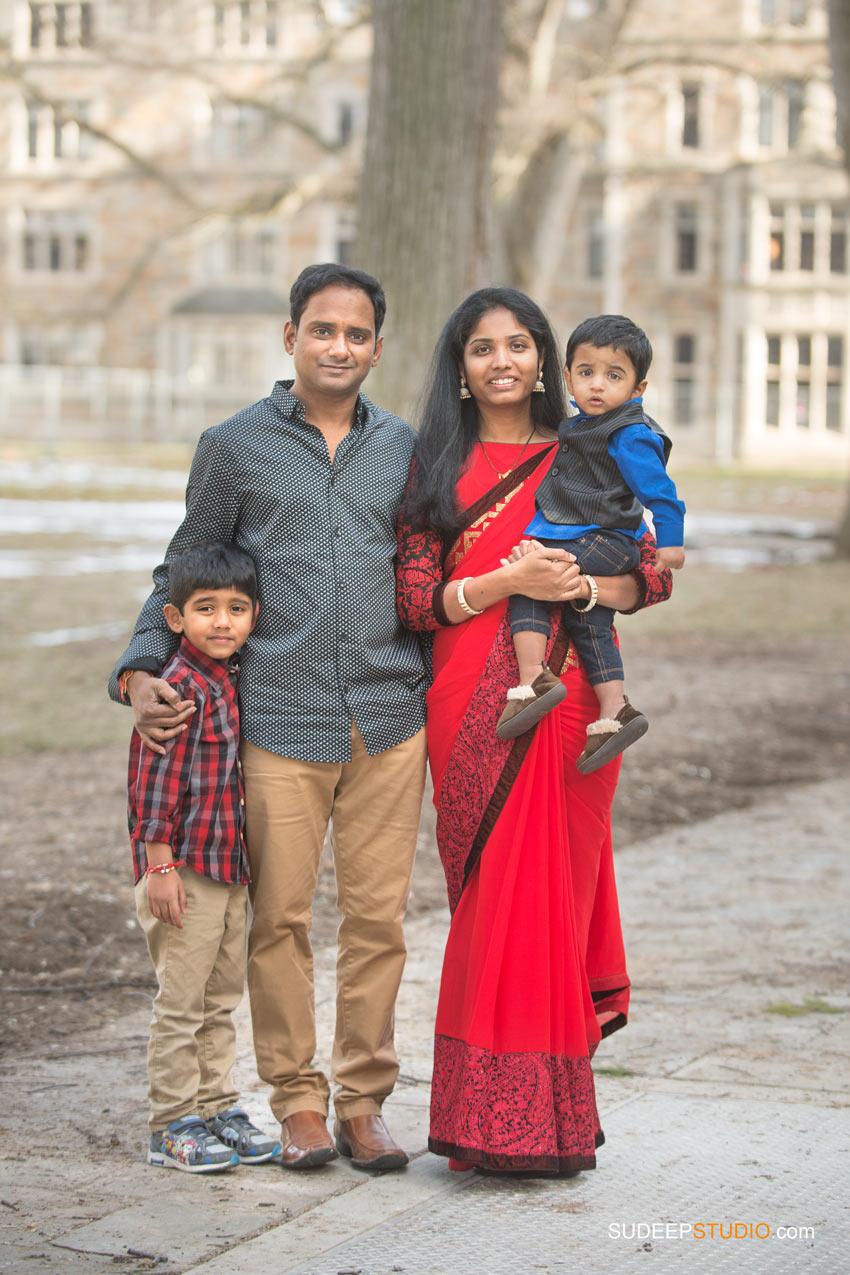 Indian Family Portraits SudeepStudio.com Ann Arbor Family Portrait Photographer