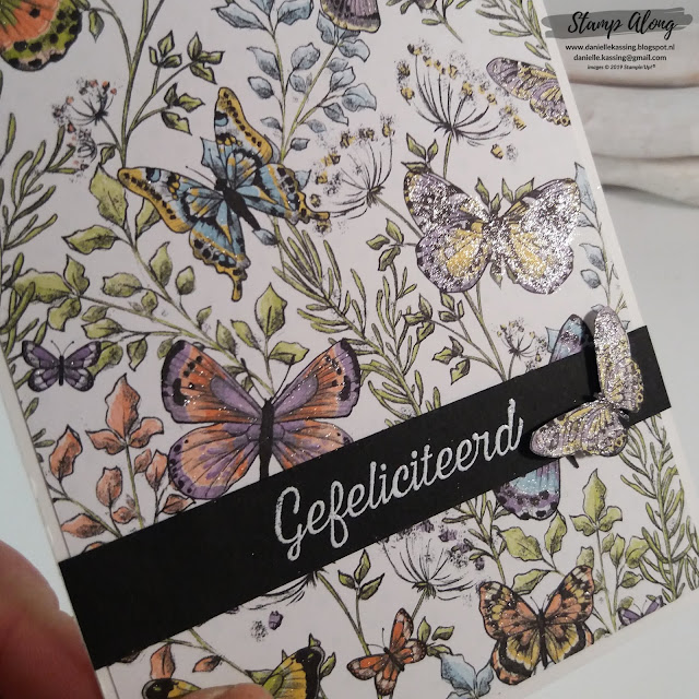 Stampin' Up! Botanical Butterfly dsp SAB