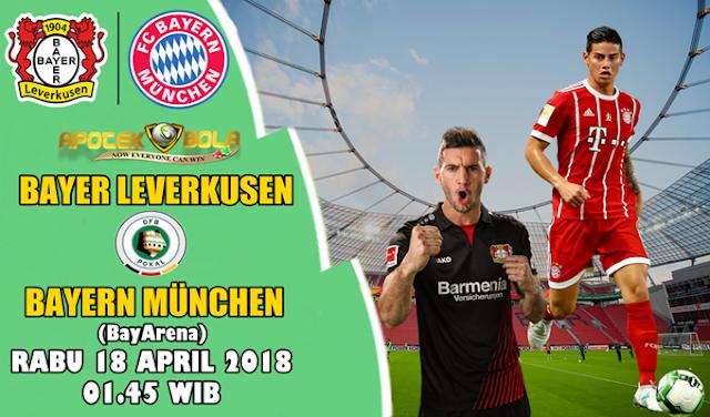 Prediksi Bayer Leverkusen Vs Bayern Munchen 18 April 2018