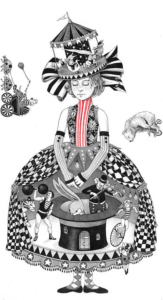 Ilustración infantil y tintas de Sveta Dorosheva
