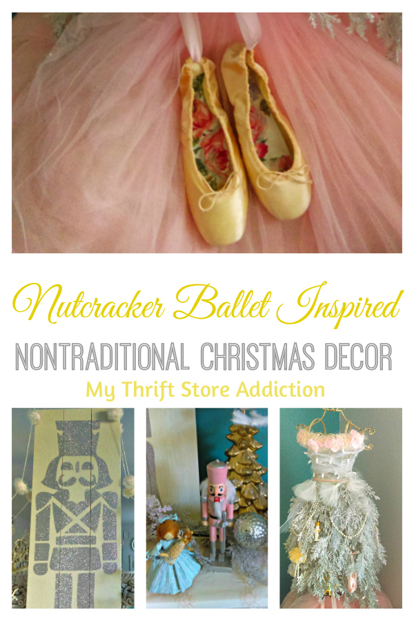 Nontraditional Nutcracker inspired Christmas decor