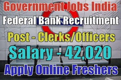 Federal Bank Recruitment 2018