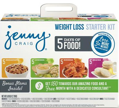 Jenny Craig Weight Loss Kit at Walmart