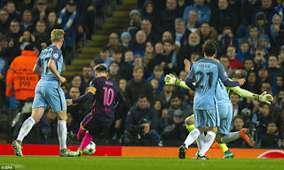 Messi Against Willy Caballero
