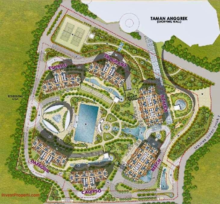 Central Park Apartments Jakarta: Lifestyle Property: Taman Anggrek Residences Apartement
