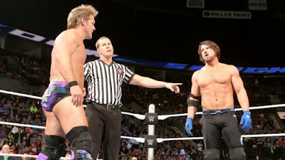 Fastlane Y2J VS The Phenomenal One AJ Styles PPV Smackdown Raw