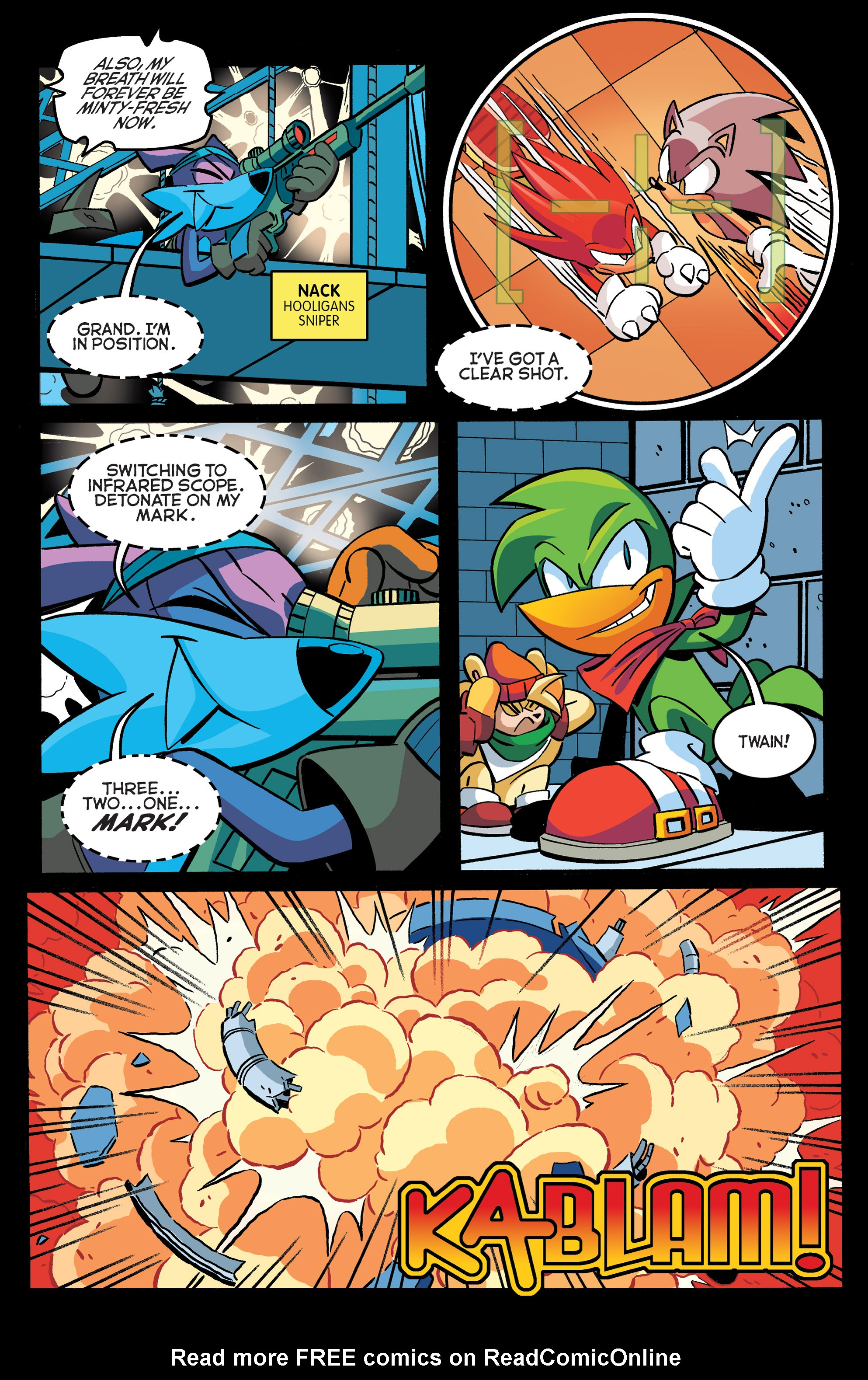 Read online Sonic The Hedgehog comic -  Issue #271 - 10