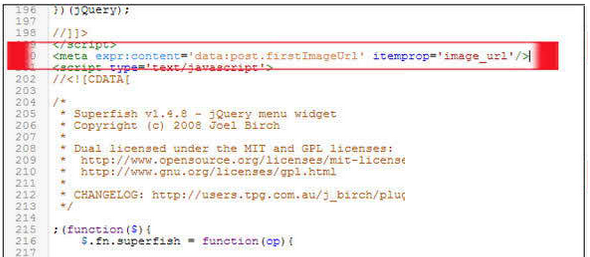 Fixing Image_url Error google webmaster tools