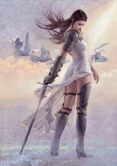 Fantasy inspiration Warrior Women