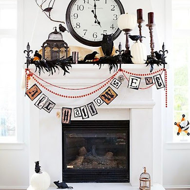 Spooktacular Shelfies | Halloween Mantle 7 Ways