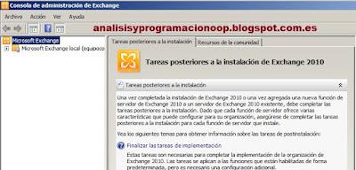 Configurar Microsoft Exchange
