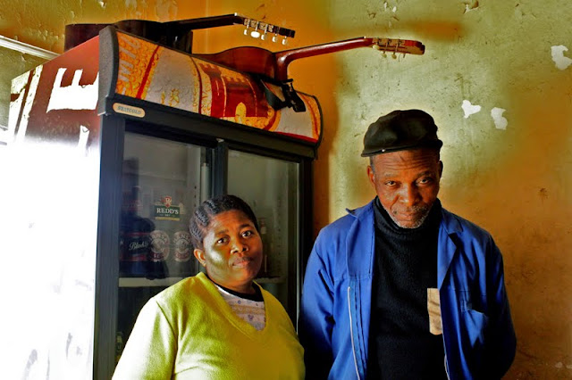 Magic and his shebeen queen, Soweto.