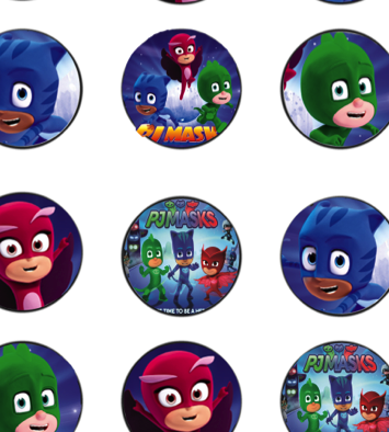 All Of These Fabulous And FREE Party Printables From Daisy Celebrates. PJ  MASKS ...