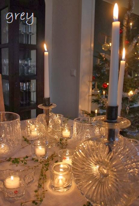 Joulupöydän Kattaus