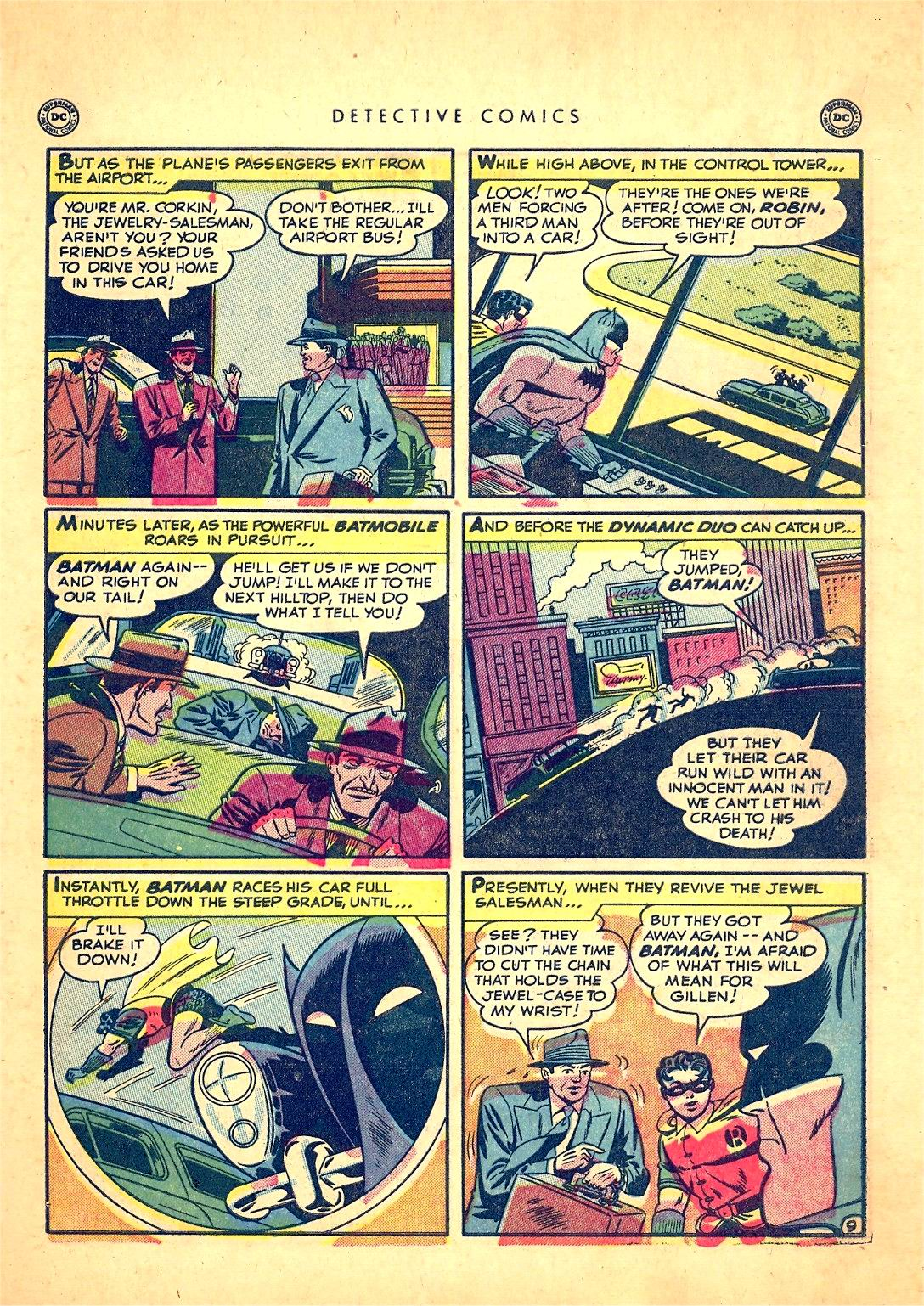 Read online Detective Comics (1937) comic -  Issue #166 - 11