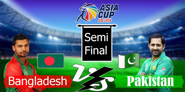 semi final Pak Vs Ban live streaming
