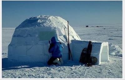 Rumah Es Suku Eskimo