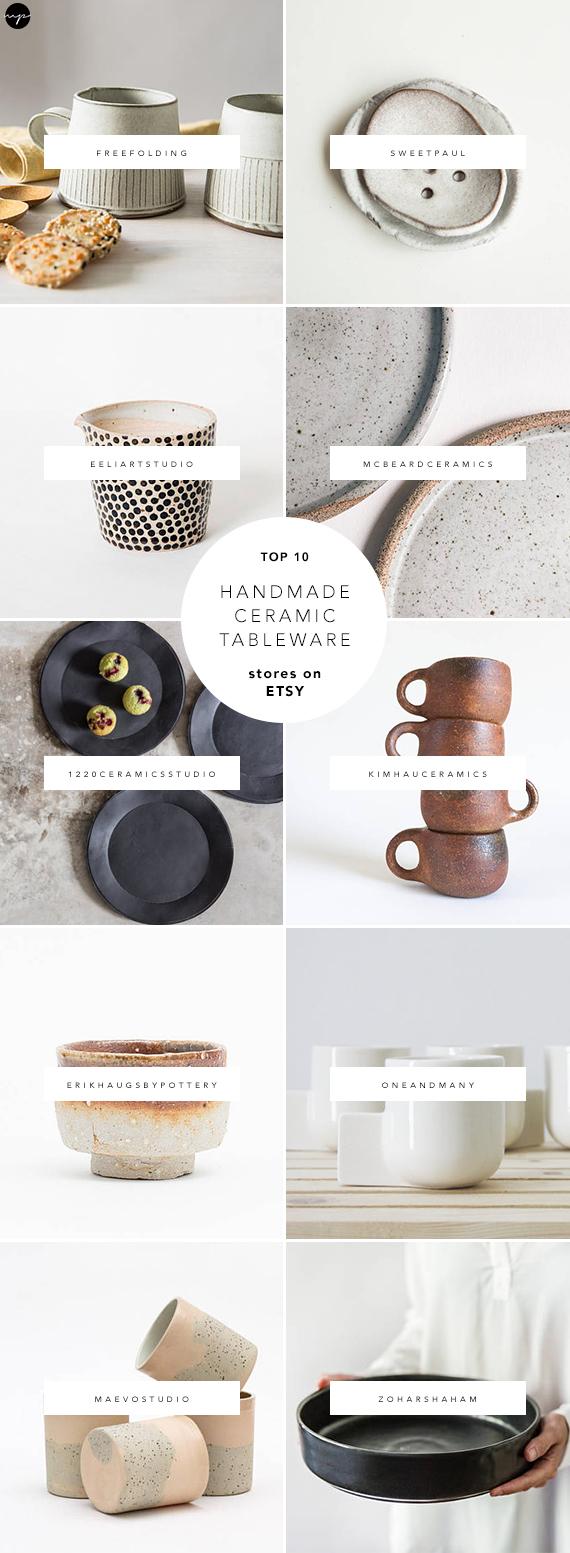 10 best stores for handmade ceramic tableware on Etsy   My ...