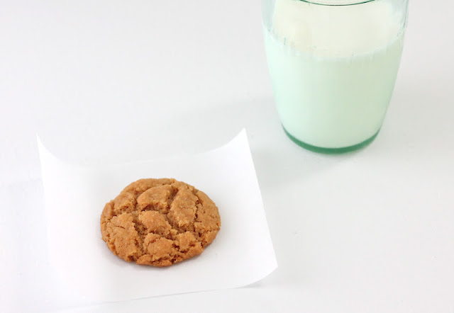 """Healthy"" Peanut Butter Cookies"