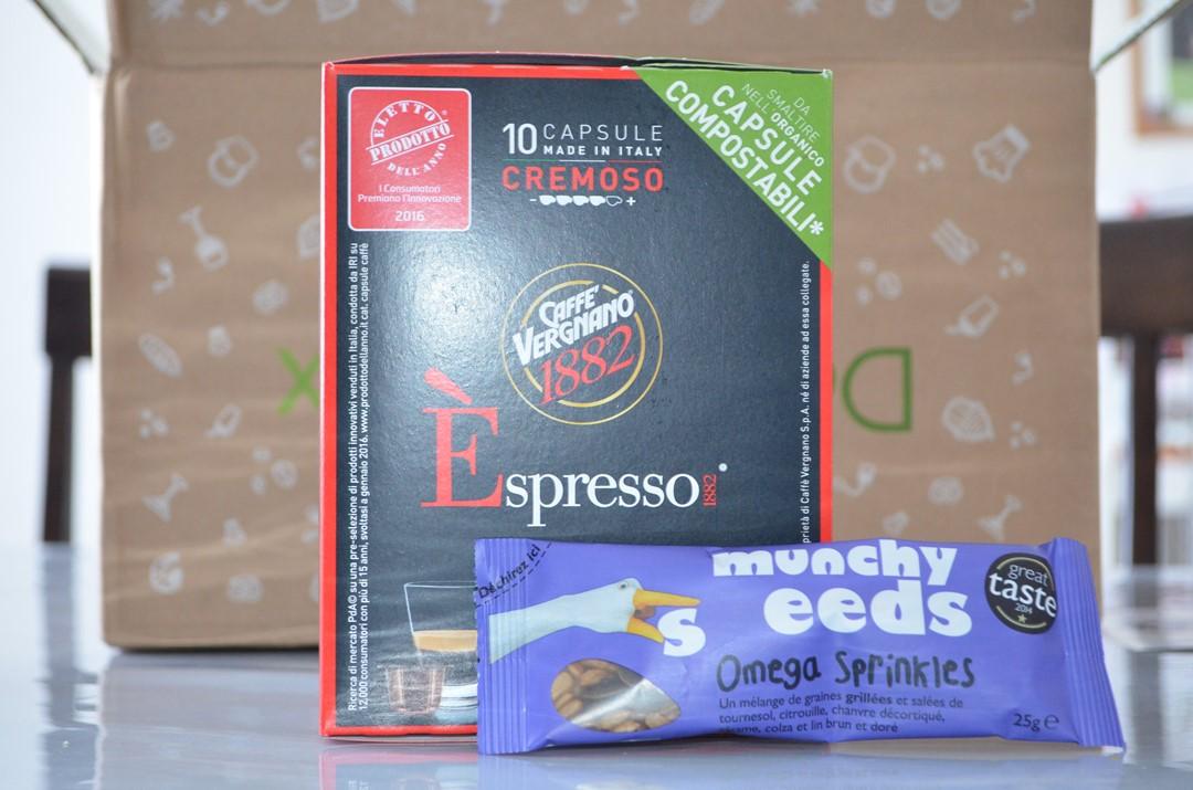 Fibres - fer - vitamine E - Petit déjeuner équlibré - Caffé Vergnano