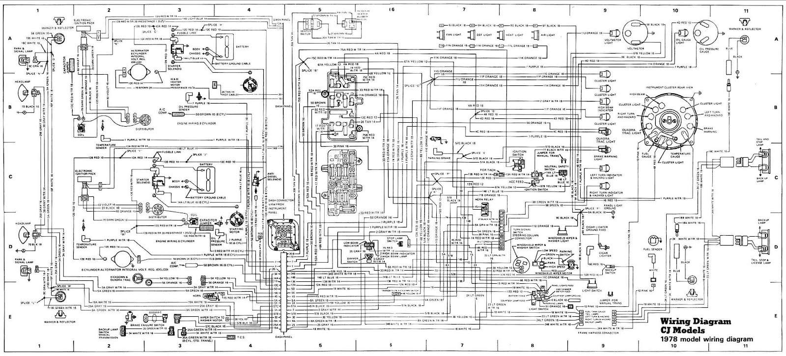 Wiring Diagram For Jeep Cj7 - Wiring Diagram