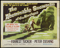 The Abominable Snowman poster