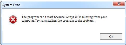 Télécharger Win32.dll Fichier Gratuit Installer