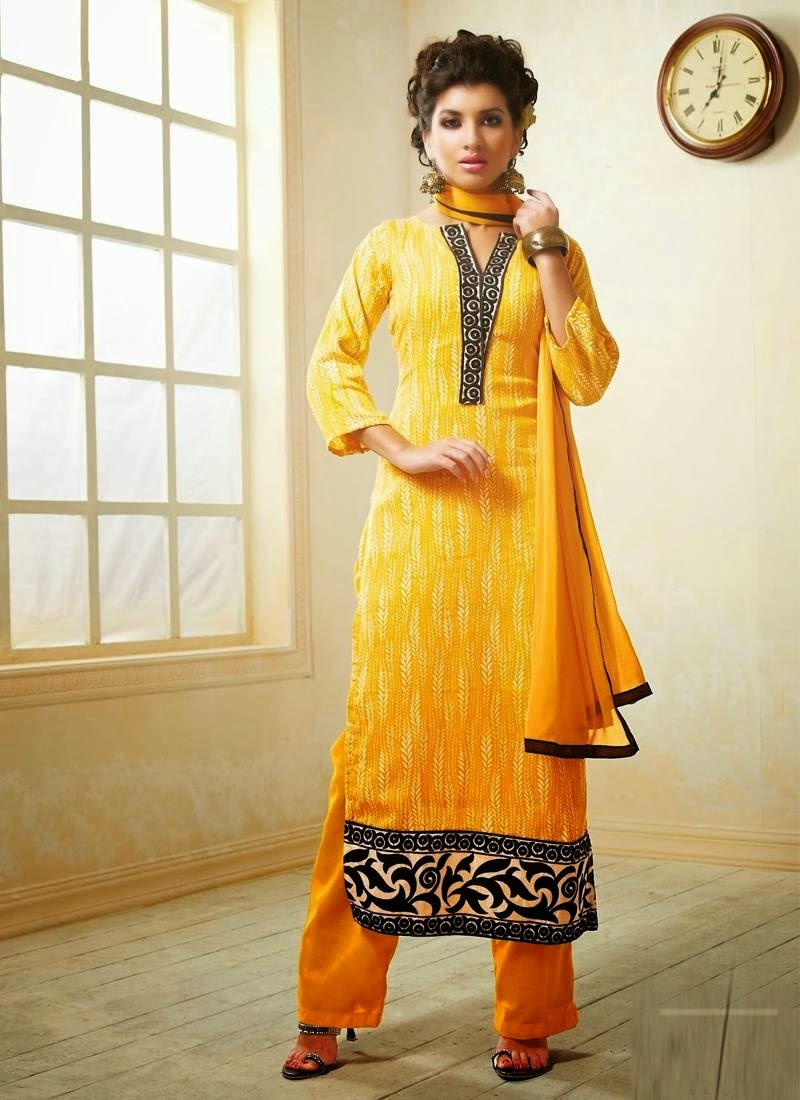 5689161e32 Cotton salwar kameez is the trendiest yet conventional clothing in India as  well as in all different nations. It is worn by ladies from years in India  and ...