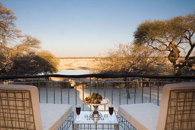Okaukuejo Camp Etosha National Park Namibia