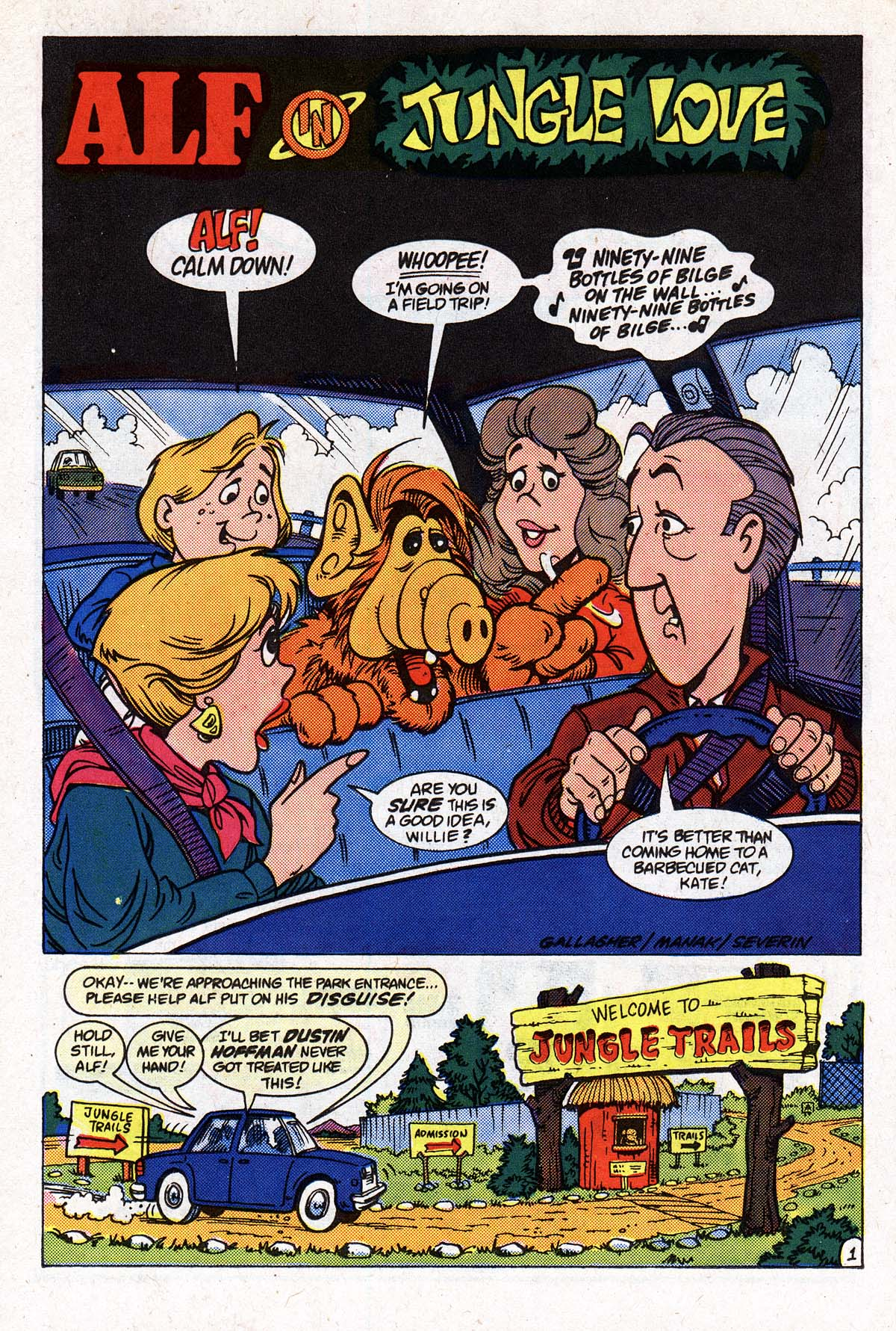 Read online ALF comic -  Issue #2 - 83
