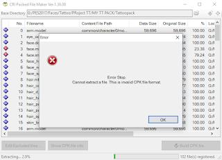 CriPackedFileMaker versi terbaru (v2.40)