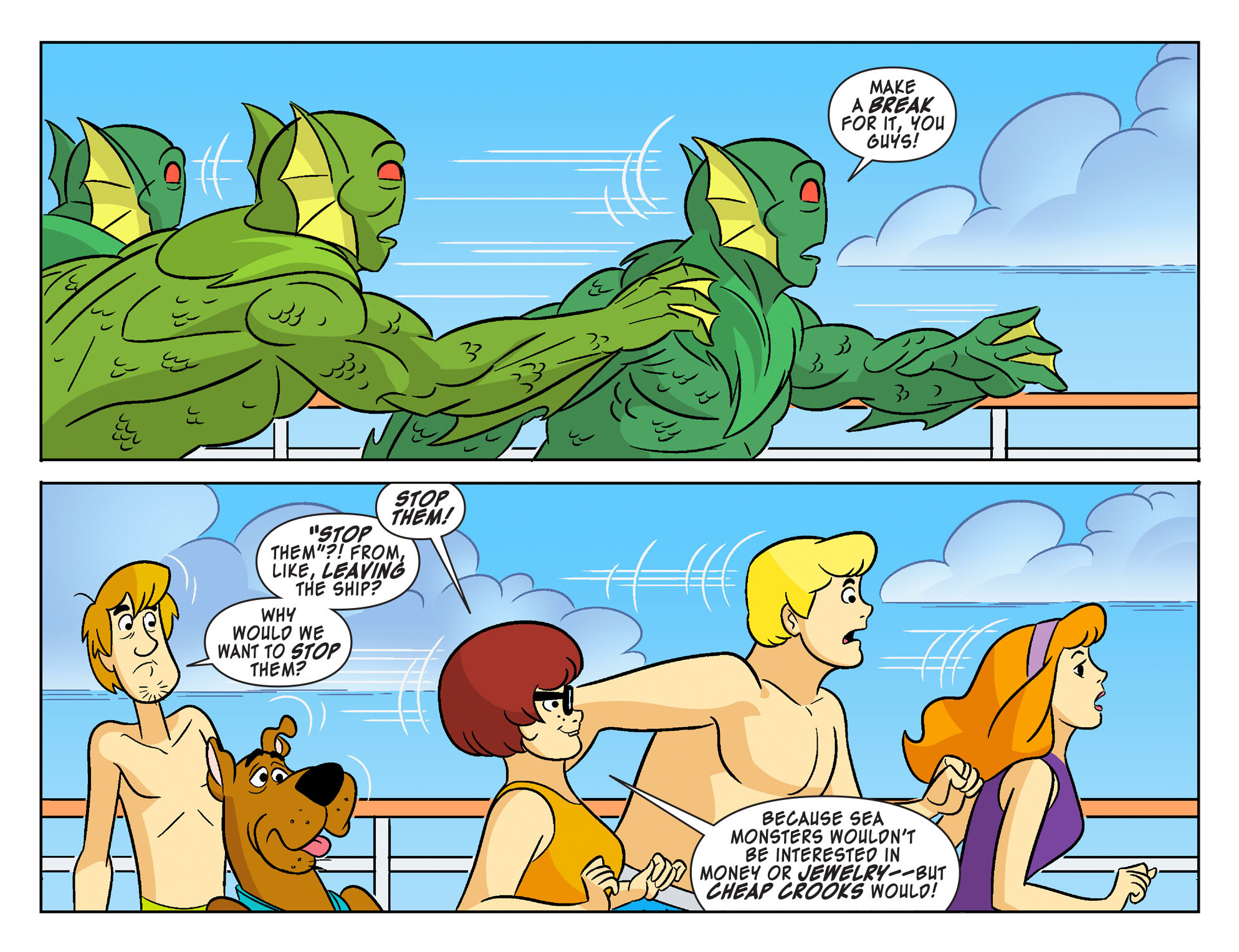 Read online Scooby-Doo! Team-Up comic -  Issue #27 - 12