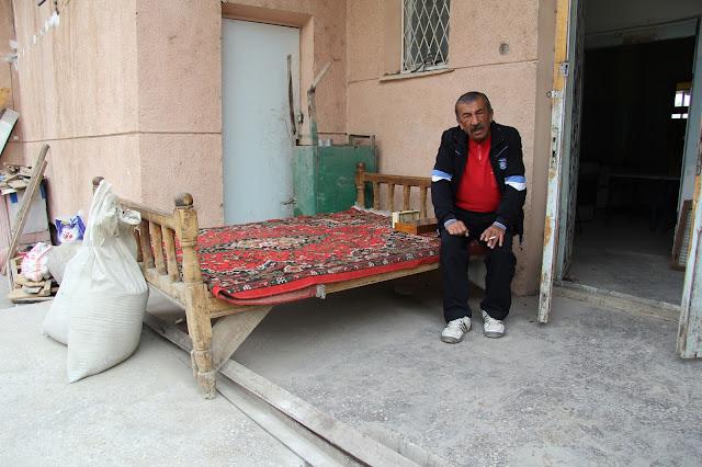 Ouzbékistan, Ferghana, tapchane, tapshan, © L. Gigout, 2012