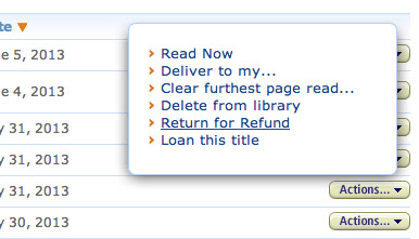 Author J Washburn: The Easy Way to REFUND A KINDLE BOOK Purchase