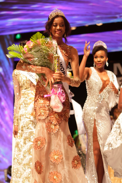 #MBGN2017 Miss Kebbi Ugochi Ihezue wins Most Beautiful Girl In Nigeria 2017