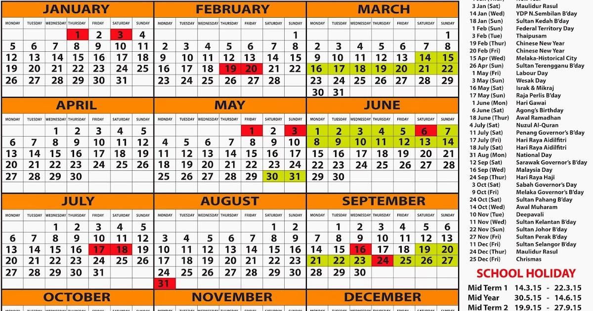 TDS: Free Calendar 2015 & Planner 2015
