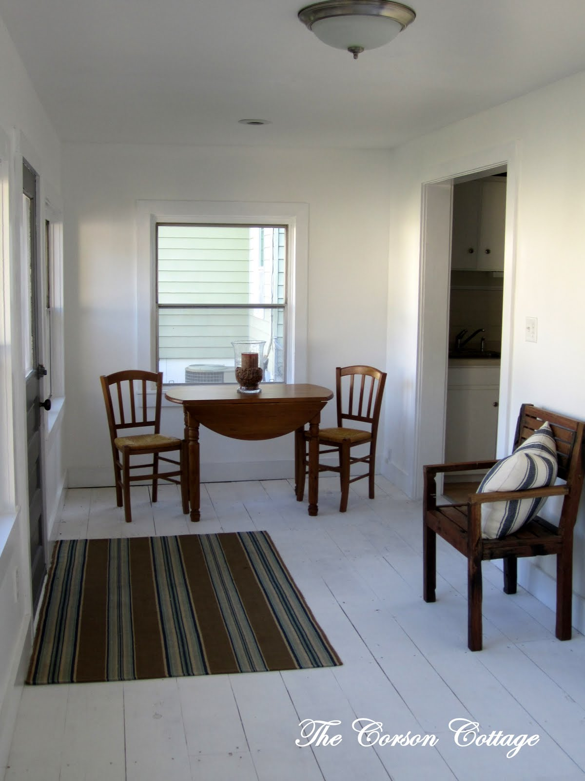 Remodelaholic White Washed Floors How To