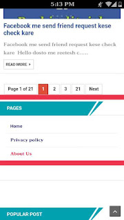 blog me pages kese add kare 5