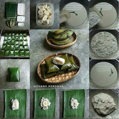 Kue Nagasari Pisang