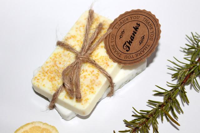 DIY, Basteln: Seife Zitronen- und Rosmarin als Geschenkidee, Kosmetik, Beauty und Wohndekoration - DIYCarinchen