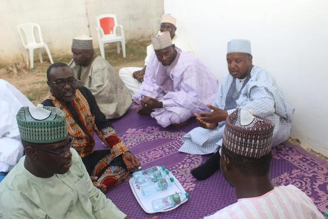 Kebbi State Gov Did During Prayer For Buhari