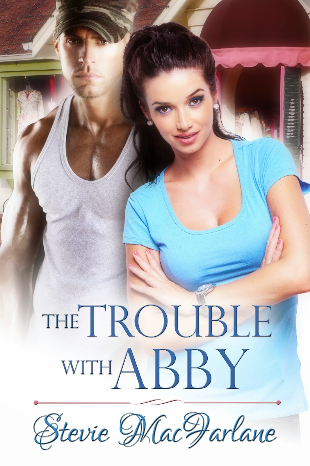 http://www.amazon.com/Trouble-Abby-Stevie-MacFarlane-ebook/dp/B00Q0JX3PY/ref=sr_1_1?ie=UTF8&qid=1418059357&sr=8-1&keywords=The+Trouble+with+Abby