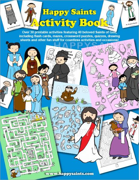 Back to eBooks Catalog  sc 1 st  Happy Saints & Happy Saints: Happy Saints Activity Book 25forcollege.com