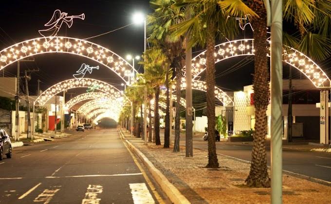 TURISMO - Prefeitura de Caxias prepara iluminação especial para abertura do Natal Iluminado